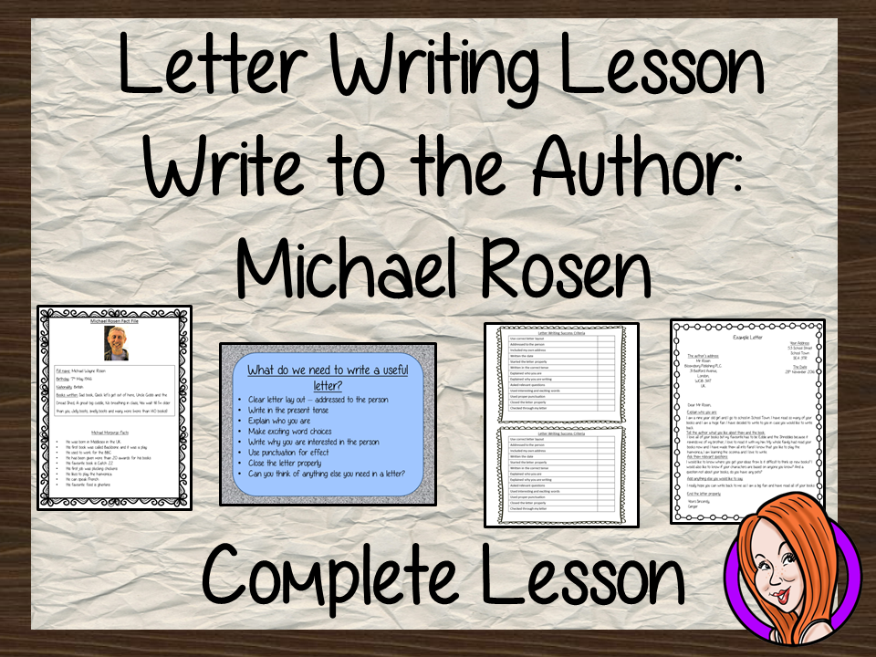 letter writing lesson A fun, interactive lesson to introduce formal letters for pre-intermediate and above students analyze useful sentence stems in context and then practise them with an interactive, competitive writing game.