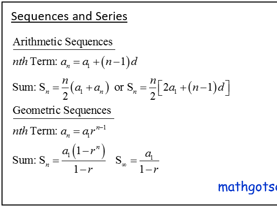 Edexcel A-Level Pure Maths Chapter 3 sequences and series