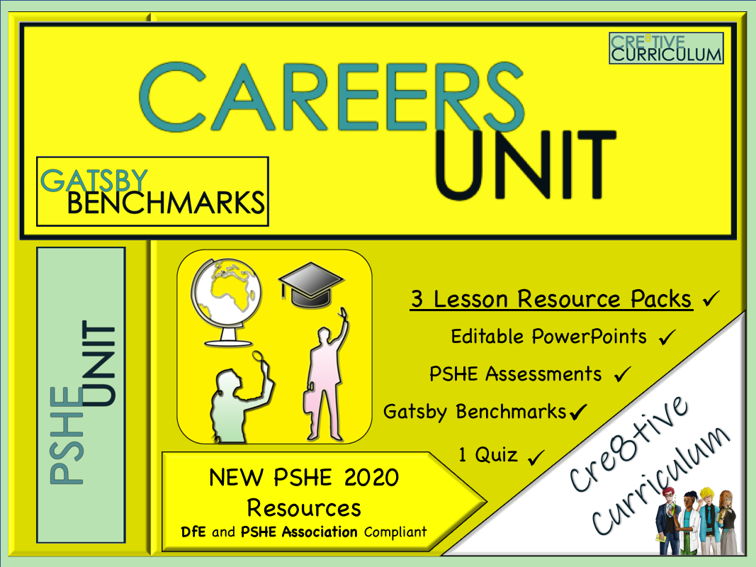 Careers Mini Unit - Gatsby Benchmarks CV