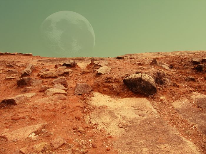 Diary from Mars - KS2 example text and lesson ideas