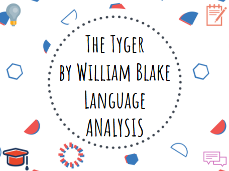 The Tyger by William Blake language analysis #Romanticism #Poetry #English #GCSE
