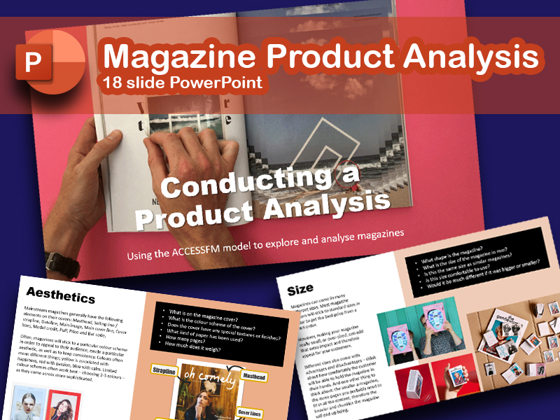 Magazine Product Analysis