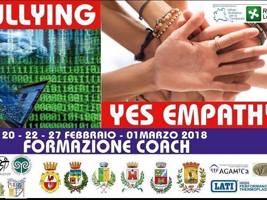 NotBullying, Yes empathy! materiale formazione coach Tripax 02-18