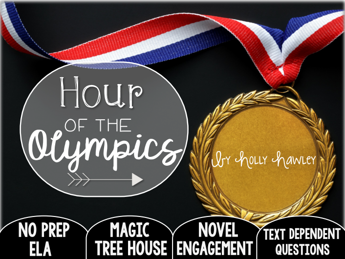 Hour of the Olympics: Text Dependent Questions