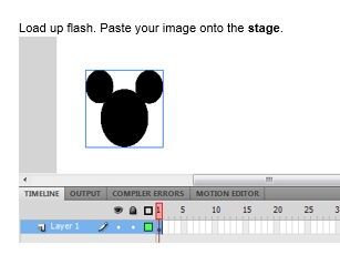 Create an animation in Flash