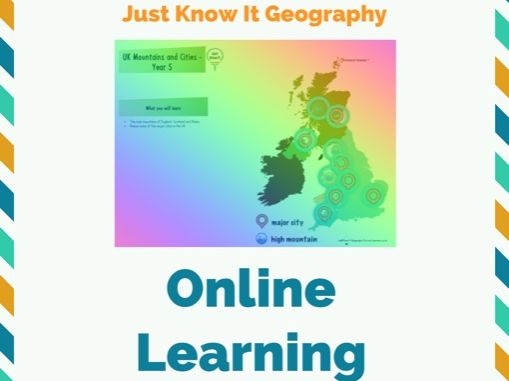 Just Know It Geography Y3/4 Online Pack