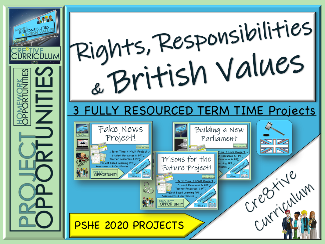 Rights Responsibilities and British Values Projects