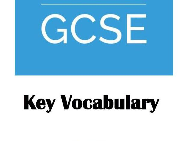 OCR Business Studies Key Vocabulary booklet