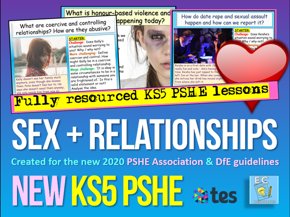 Relationships and Sex Education KS5