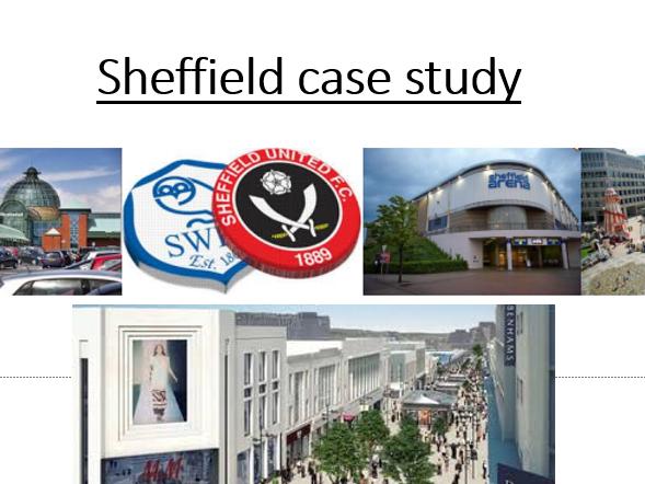 Sheffield Case Study - UK urban environment
