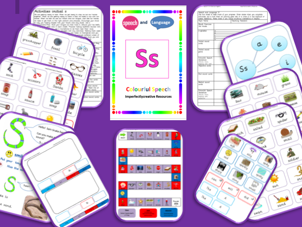 Phoneme 'S' resources -Initial, Medial and End Position