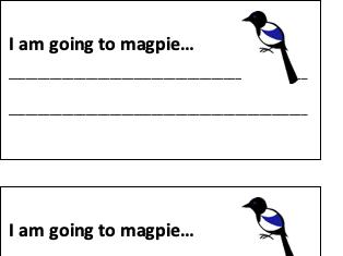 Magpie Cards (editable)