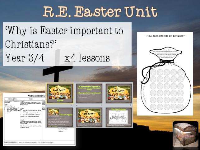 KS2 RE EASTER UNIT - 4 lessons