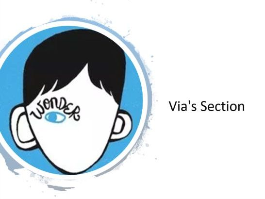 Wonder Lesson 2 - Via's Section