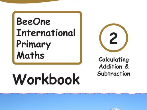 Grade 2 Math Addition & Subtraction Workbook from BeeOne Books