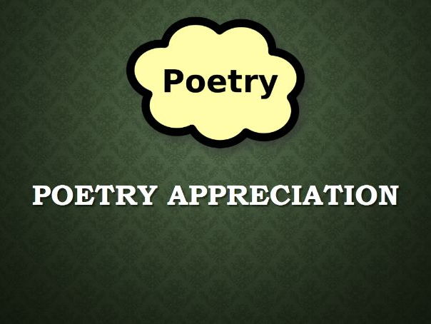 Unseen Poetry - GCSE Unit - Poetry Appreciation and Poetry Writing Scheme of Work