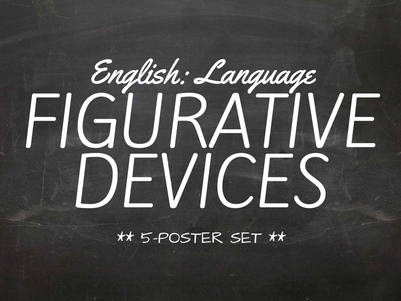 Poster Collection - Figurative Language