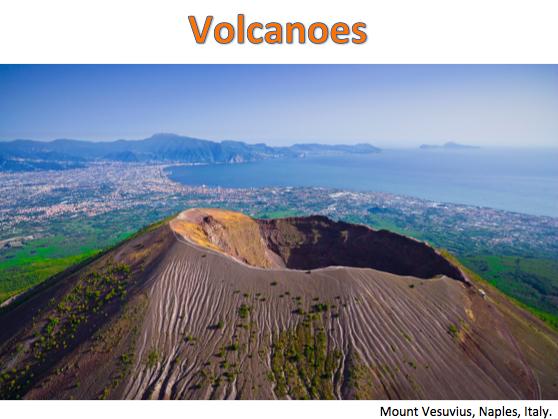 KS3 Natural Hazards - Volcanoes
