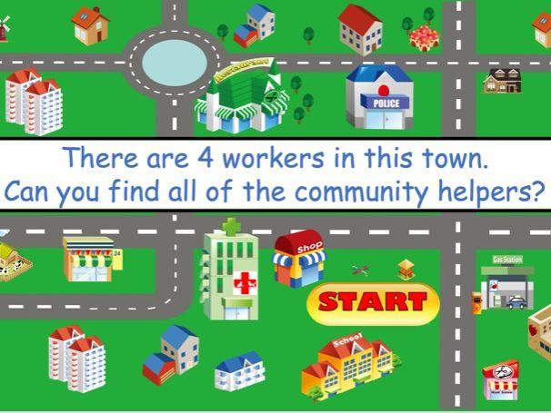 Exploring Community Helpers Lite