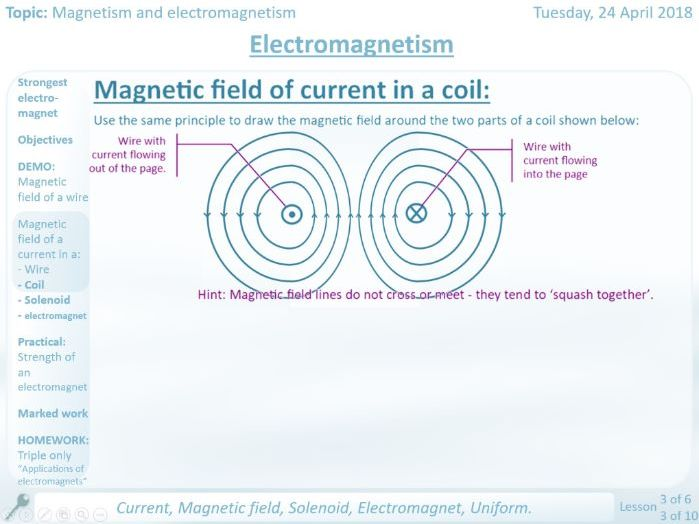 NEW AQA Electromagnetism GCSE Lesson