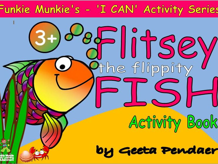 Flitsey, The Flippity Fish - Activity Book