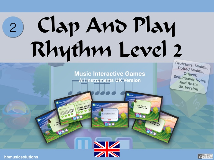 Clap And Play Rhythms Level 2