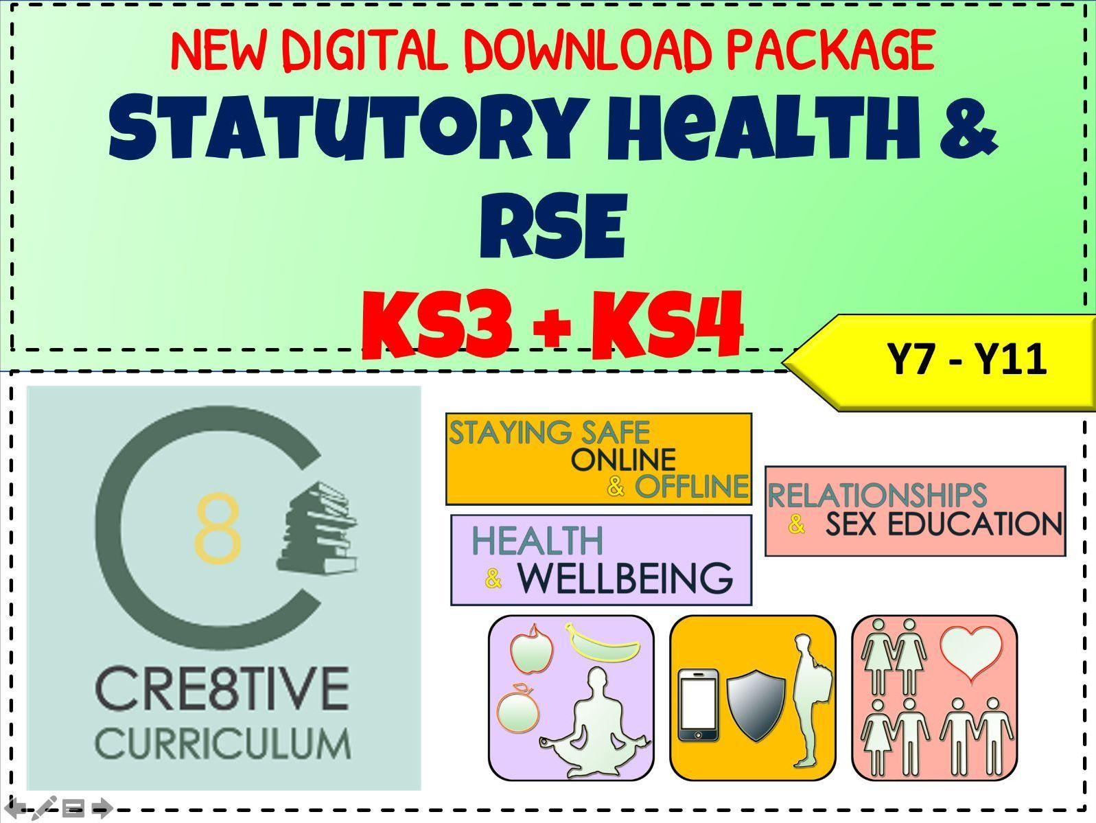 Statutory RSE + Health 2020 PSHE