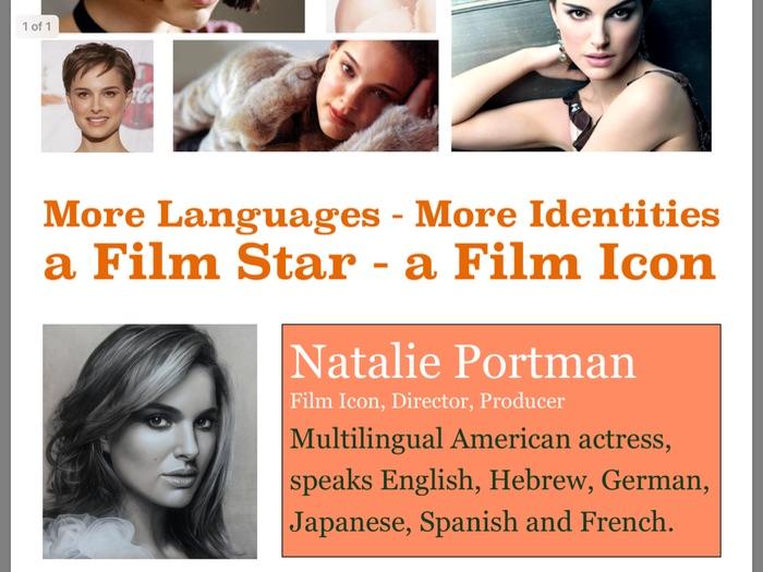 MFL Poster 6 - Natalie Portman