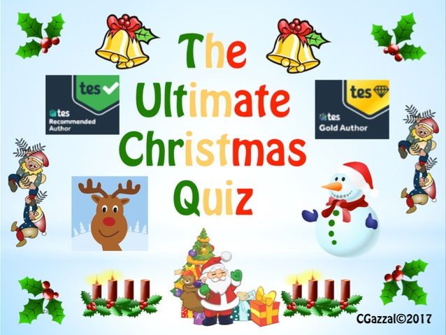 Christmas Quiz - The Ultimate Christmas Quiz