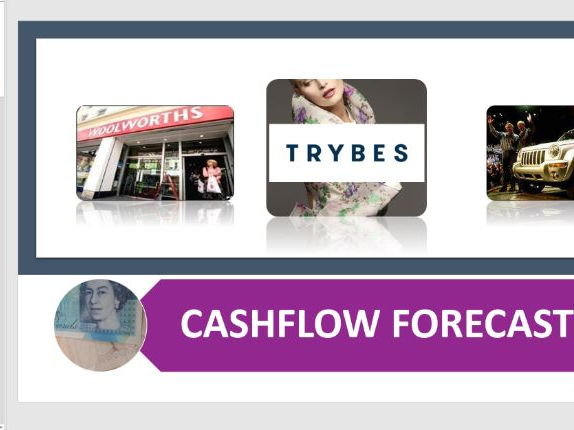 Cashflow Forecast and Case Study