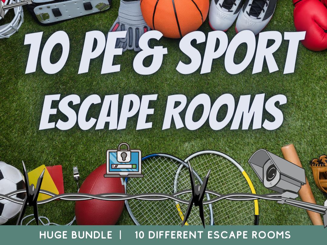 PE and Sport Escape Rooms Euro 2021