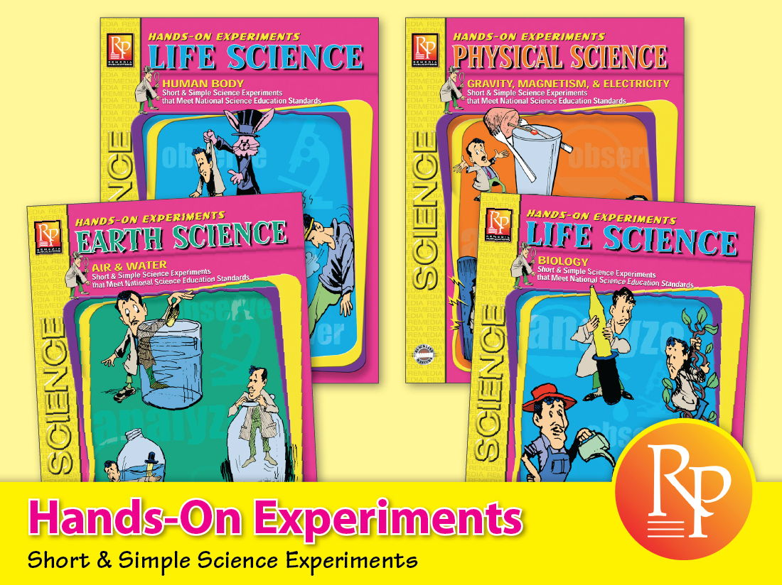 Hands-On Science Experiments {Bundle}