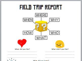 Field Trip / EOTC Report