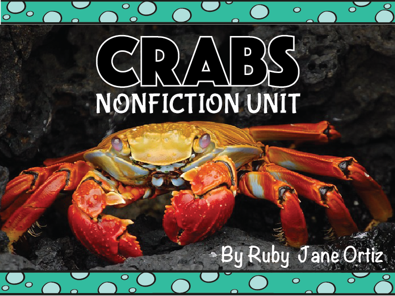 Crab Nonfiction Unit