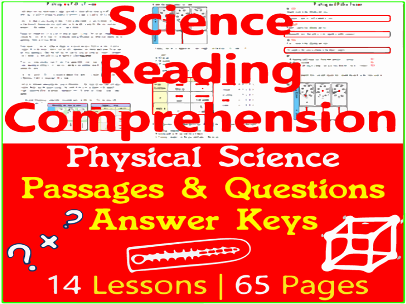 Physical Science Reading | Bundle | Grade 3-4