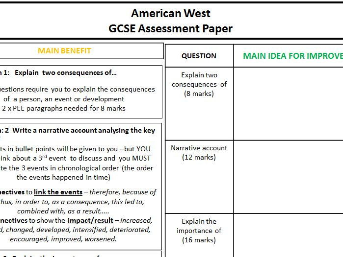 gcse history american west past papers Start studying gcse history- american west learn vocabulary, terms, and more with flashcards, games, and other study tools.