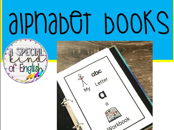 Alphabet Workbooks