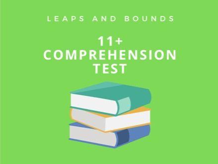 11 Plus Comprehension Test