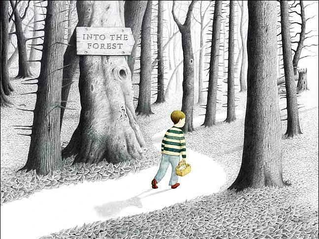 Into the Forest - Anthony Browne Plans PoR