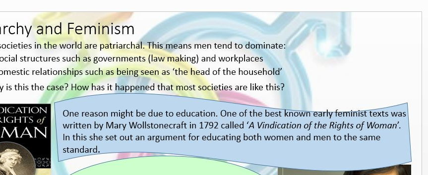 Gender and Society Power Point: R.S New Spec A2