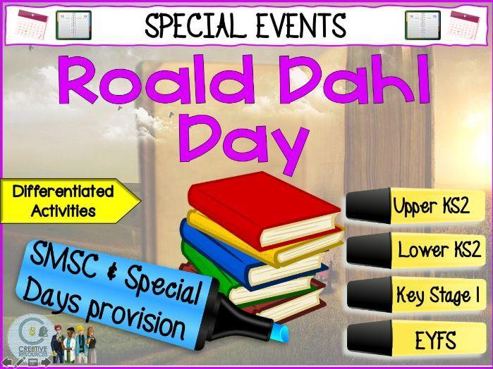 Roald Dahl Day - September