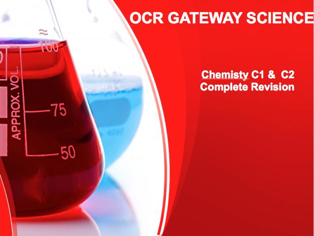 GCSE OCR Gateway Science Chemistry FUN Revision MegaPack, Over 150 Slides