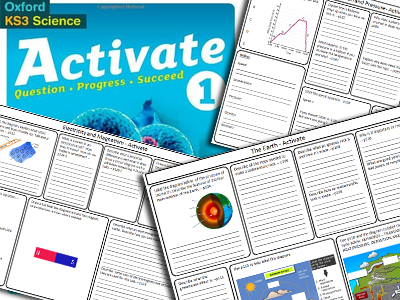 KS3 Activate 1 Science Book Revision Bundle