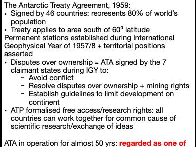Governance of Antarctica