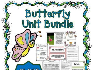 Butterfly Unit ~ Close Reading Passages ~ Text Dependent Questions