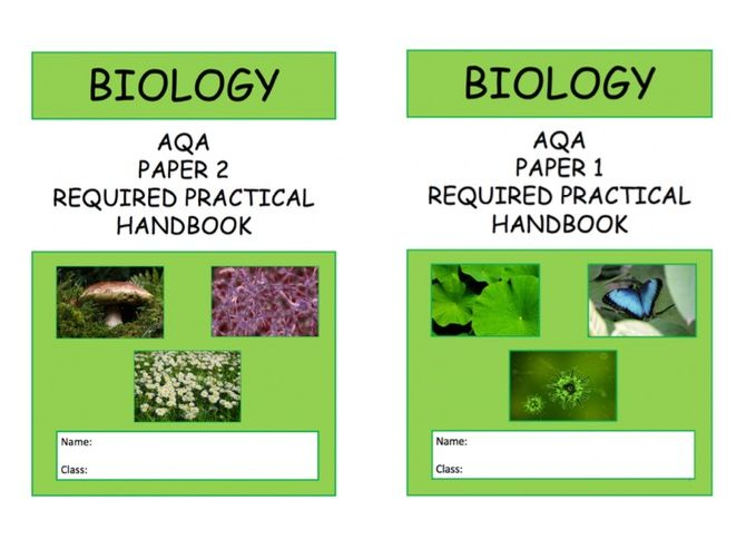 NEW AQA Biology Required Practical Handbook 9-1