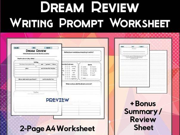 Dream Review Worksheet