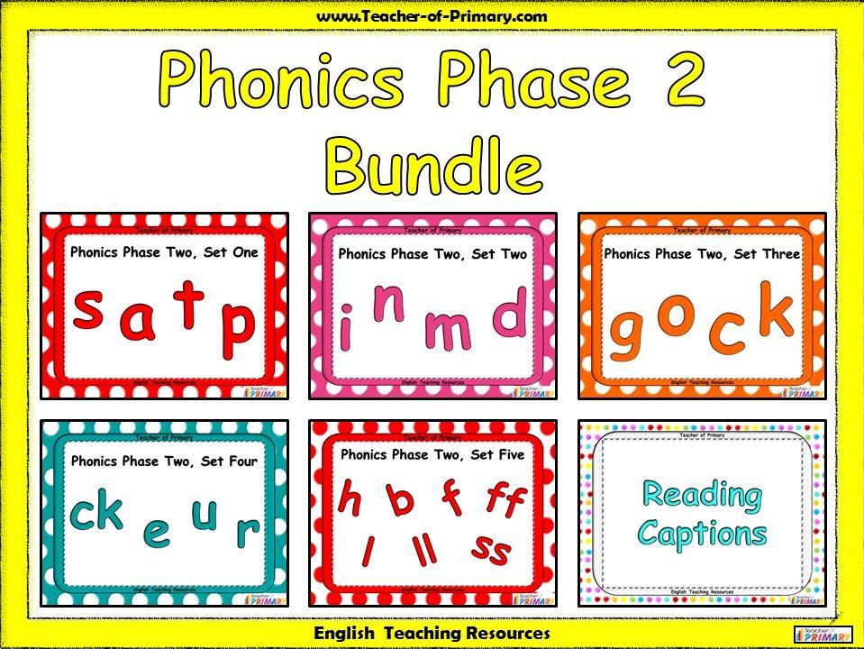 Phonics Phase 2 Bundle