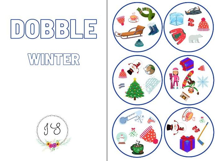 Dobble - Winter (card game)