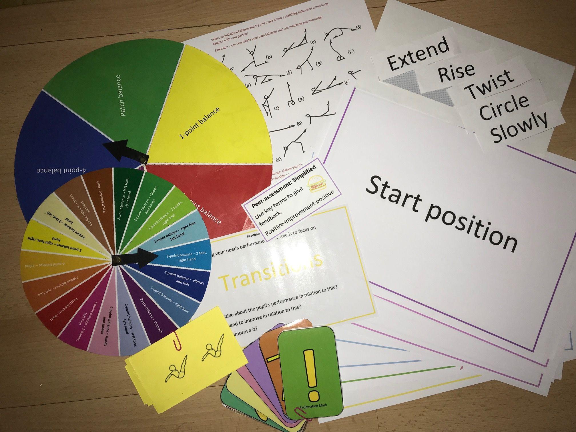 Gymnastics Bundle - Sequences, transitions, balances and feedback